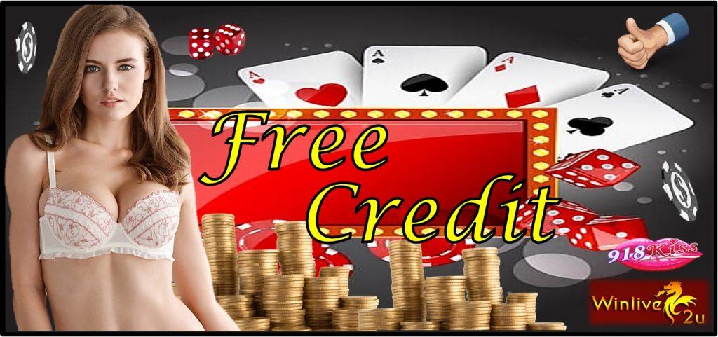 Free Credit Casino 2018 | 918Kiss Register