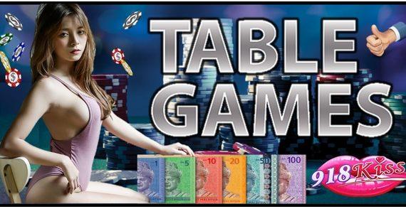 918Kiss Table Games Tips
