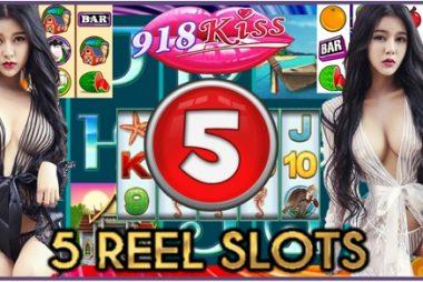 5 Reel Slot At 918Kiss Casino