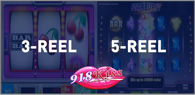3-reel Slots vs 5-reel Slots