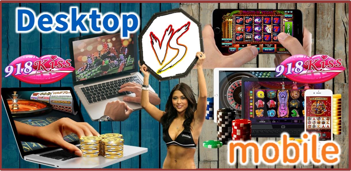 Desktop vs Mobile Slots