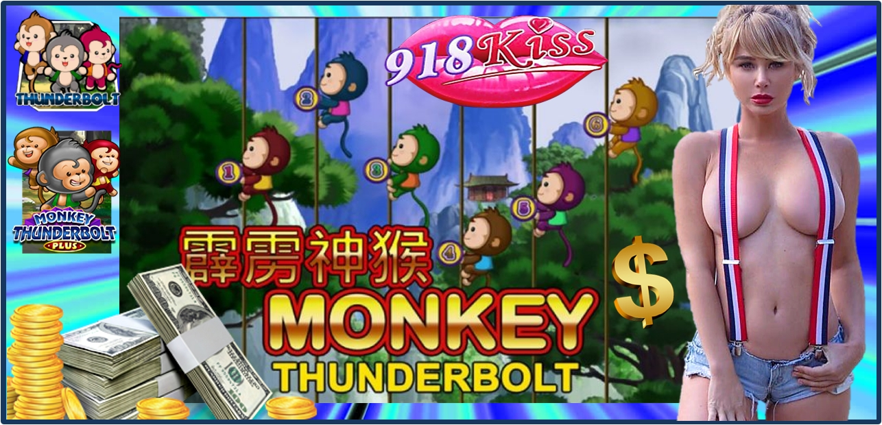 918Kiss Online Casino Monkey Thunderbolt