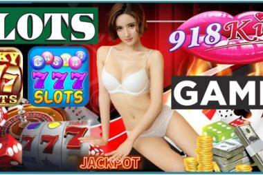 Playing Slot Games At 918Kiss Casino