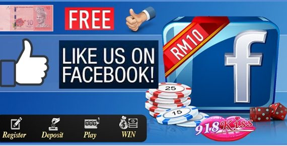 918Kiss Casino Facebook Bonus